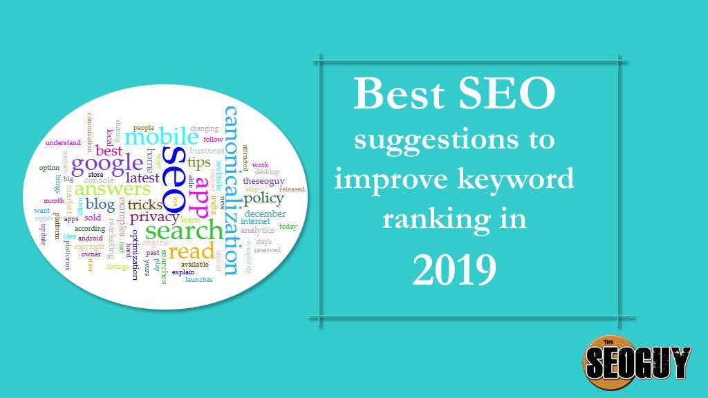 improve keyword ranking
