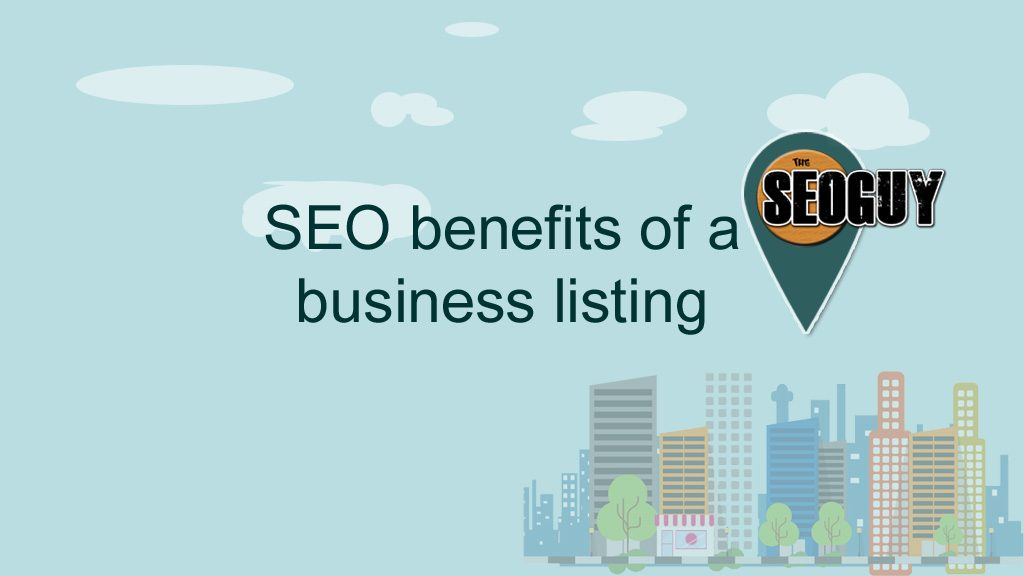 SEO benefits of a business listing