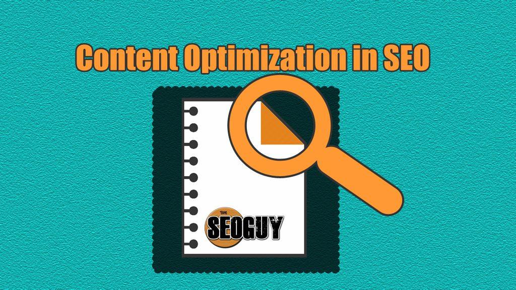 Content Optimization in SEO