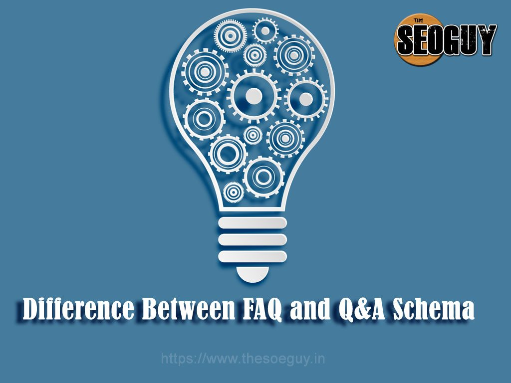 difference between faq and Q&A Schema