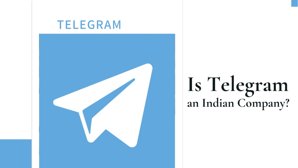 Is Telegram Indian Company